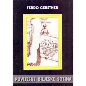 Ferdo Gerstner: Povijesne bilješke Sotina